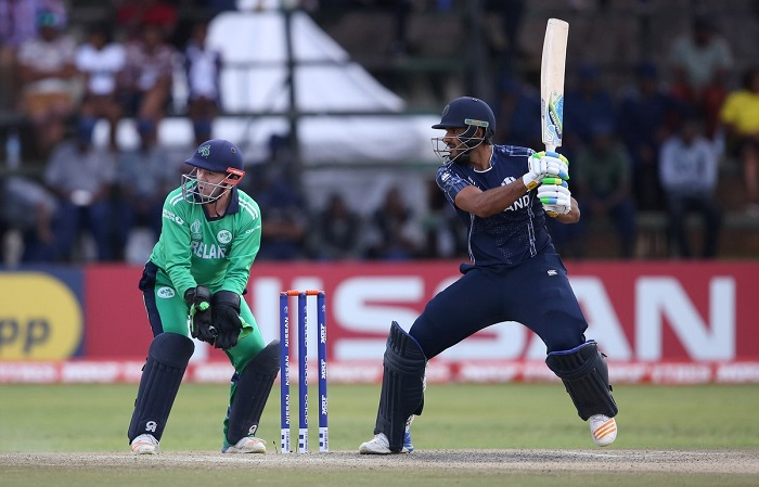 Ireland and Scotland played a tied T20I game
