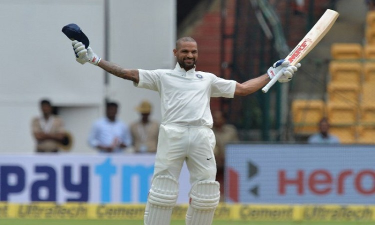Scoring century in single session was great thing says Shikhar Dhawan