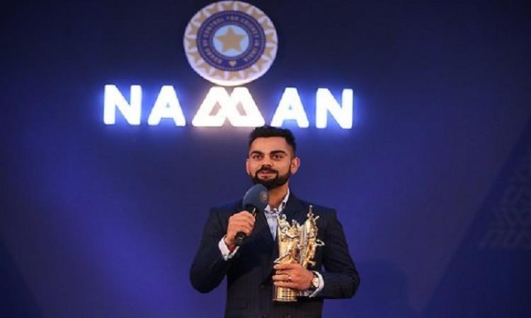 Virat Kohli Receives Polly Umrigar Award For Best International Cricketer