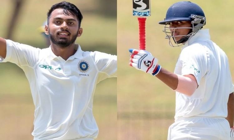 India U19 pile up 428/4 on Day 1 against Sri Lanka U19 in Hambantota.