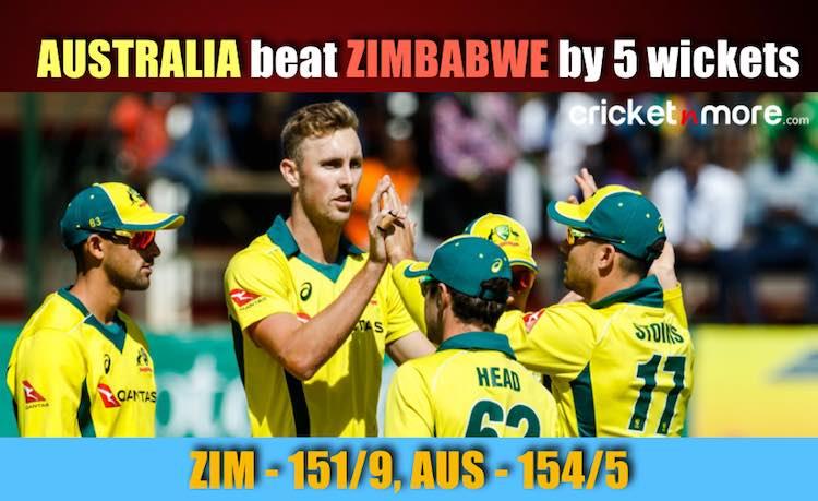 Australia vs Zimbabwe