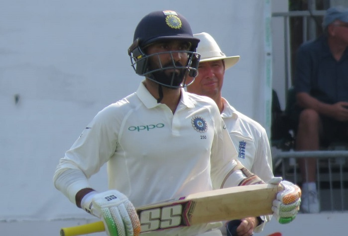 team India recover after top order wobble