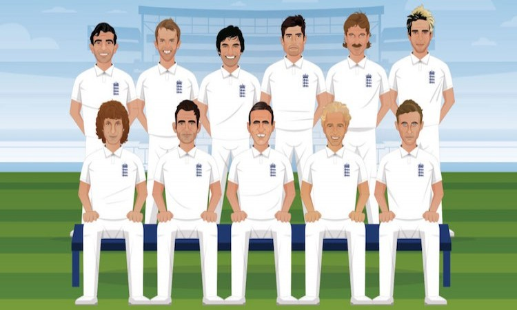England's best-ever Test XI