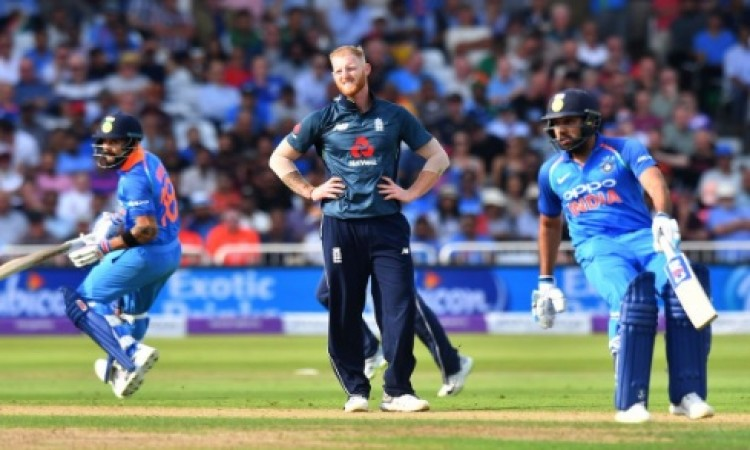 रोहित शर्मा के शतक और कुलदीप यादव के कहर के आगे बेबस हुआ इंग्लैंड, भारत की 8 विकेट से जीत Images