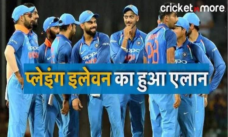 India Predicted XI for 3rd odi vs england