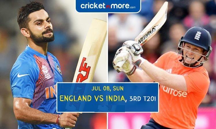 भारत बनाम इंग्लैंड ( तीसरा टी-20): जानिए कब और कितने बजे से होगा मैच का लाइव टेलीकास्ट Images