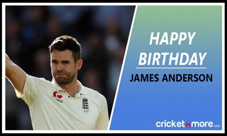 James Anderson Birthday