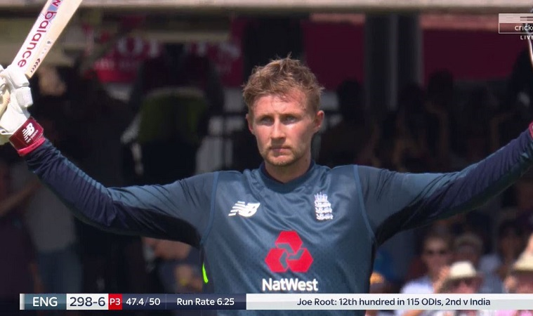 england  post 322 runs in second odi vs india