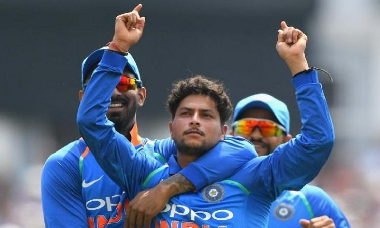 kuldeep yadav needs 5 wickets to complete 50 odi wickets