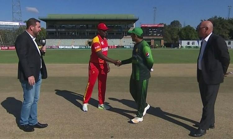 त्रिकोणीय T20I सीरीज (चौथा टी-20): पाकिस्तान ने जीता टॉस, जिम्बाब्वे के खिलाफ पहले गेंदबाजी का फैसला