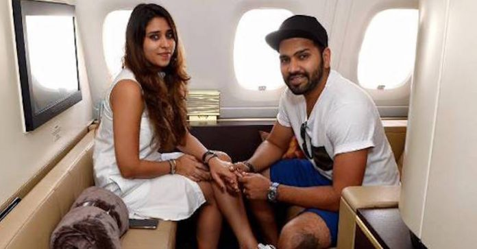 Ritika And Rohit Sharma Images in Hindi