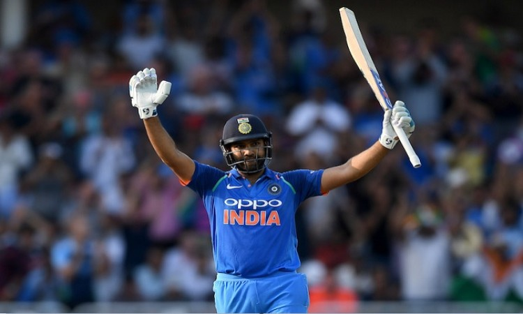 Rohit Sharma is the first player to score centuries in seven consecutive ODI series