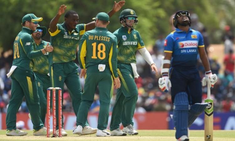 SA vs Sri Lanka