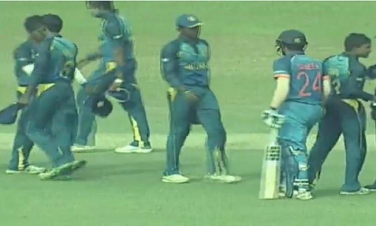 यूथ वनडे में भारत अंडर 19 टीम ने श्रीलंका को 6 विकेट से दी मात Images