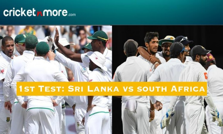 1st Test, Day 2: Spinners put Sri Lanka in commanding position against S.Africa Images
