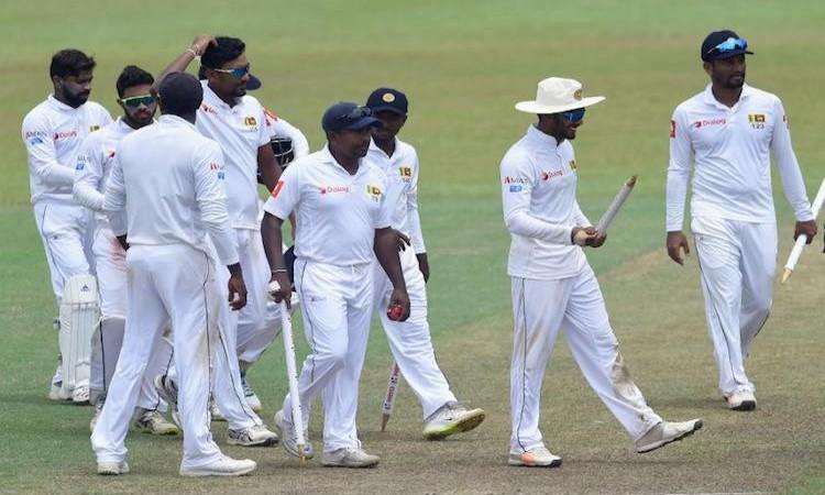 Sri Lanka Test Team