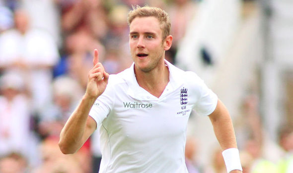 Stuart Broad names his all time best XI