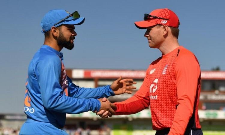भारत बनाम इंग्लैंड के बीच दूसरे टी-20 में टीम के प्लेइंग इलेवन में बदलाव, जानिए पूरी टीम Images