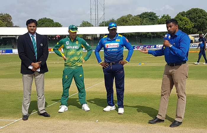 Sri Lanka opt to bat vs south africa in 1st odi