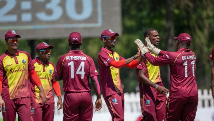 Cricket West Indies B team vs Vancouver Knights
