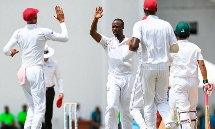 वेस्टइंडीज ने पहले टेस्ट में बांग्लादेश को एक पारी और 219 रनों से दी मात Images