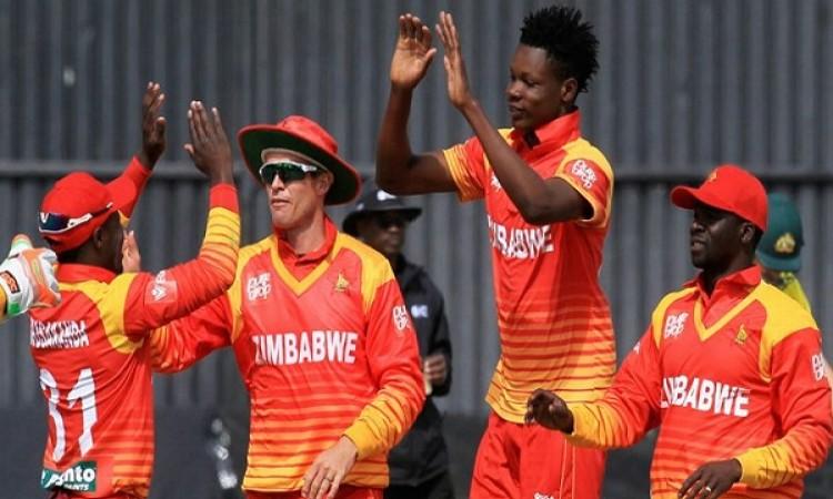 त्रिकोणीय सीरीज में हार झेलने के बाद भी जिम्बाब्वे टीम के पऱफॉर्मेंस से गदगद हुए लालचंद राजपूत Image