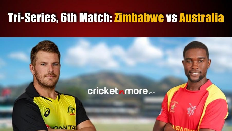 Live Score:  Zimbabwe opted to bat first against Australia