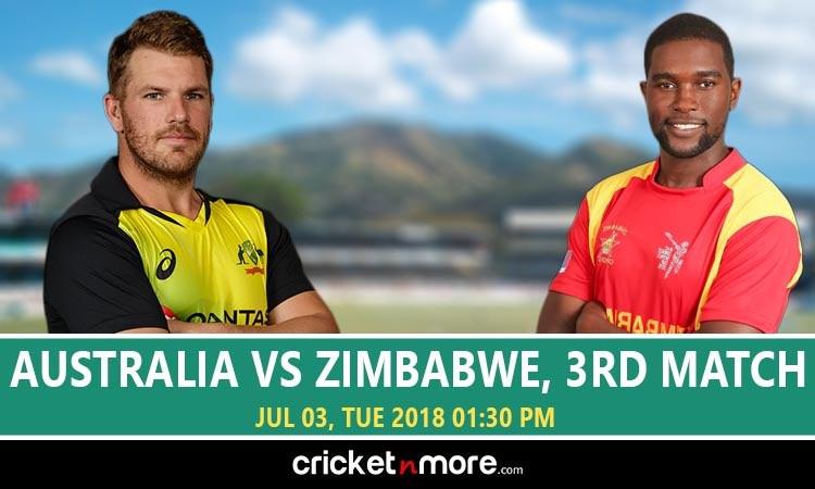 Zimbabwe vs Australia