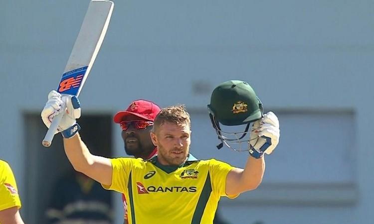 australia beat zimbabwe by 100 runs in t20i tri series