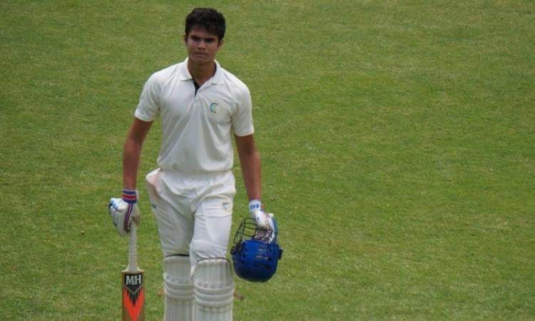 Arjun Tendulkar Out For A Duck In Debut Under 19 Match