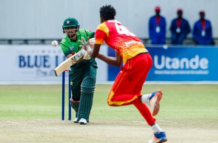 pakistan post 364/4 against zimbabwe in fifth odi