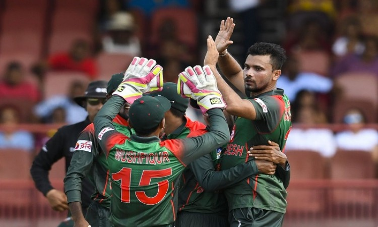 bangladesh beat west indies by 48 runs in first odi