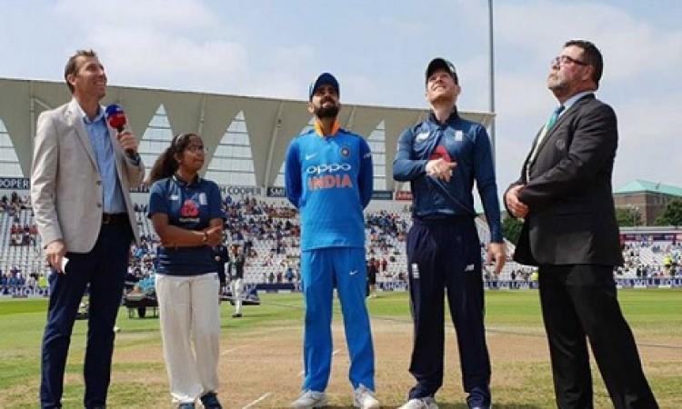 इयोन मॉर्गन ने दूसरे वनडे में इस कारण टॉस जीतकर पहले बल्लेबाजी करने का फैसला किया Images