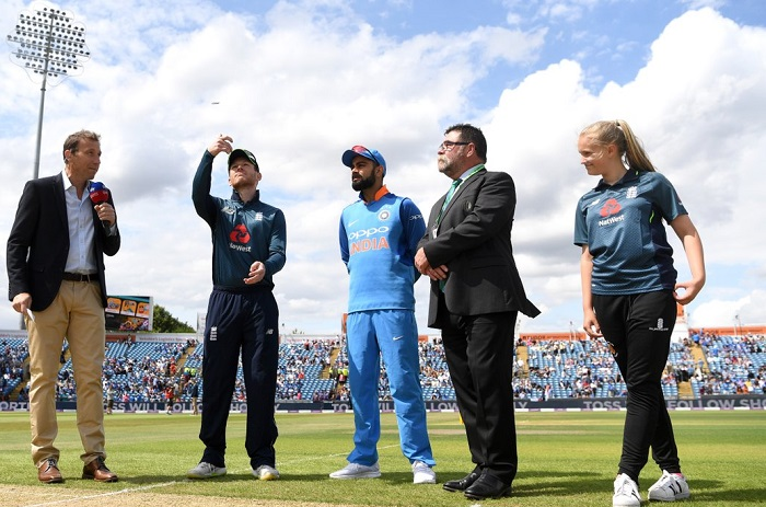 Three changes in india cricket team playing xi for third odi