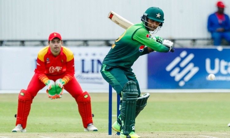 Fakhar's unbeaten double ton helps Pakistan thrash Zimbabwe