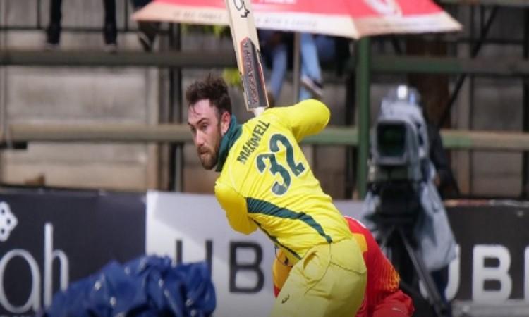 मैक्सवेल ने खेली धमाकेदार पारी, 5 छक्के जमाकर जिम्बाब्वे क्रिकेट का किया बेड़ागर्क Images
