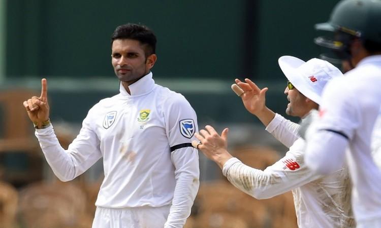 Keshav Maharaj shatters records with career-best Test figures