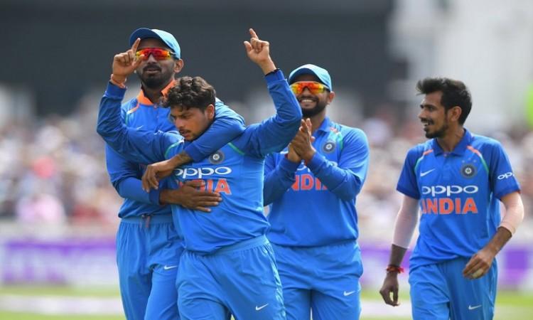 1st ODI: England succumb to Kuldeep's heroics