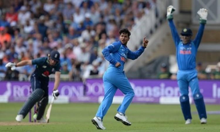वनडे में चाइनामैन कुलदीप यादव का शाानदार रिकॉर्ड, 6 विकेट लेकर रच दिया इतिहास Images