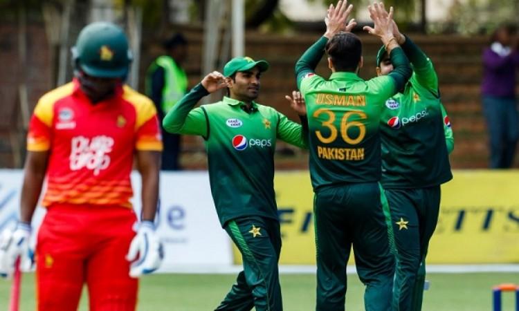 पहले वनडे में पाकिस्तान ने जिम्बाब्वे को 201 रनों से हराया, वनडे में बना ये खास रिकॉर्ड Images