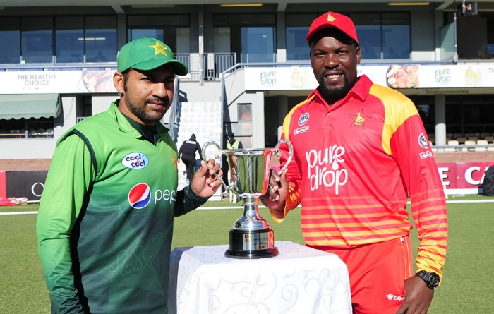 pakistan opt to bat first against zimbabwe in fifth odi