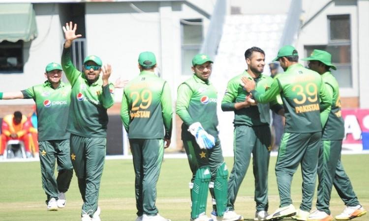pakistan beat zimbabwe by 9 wicket in third odi
