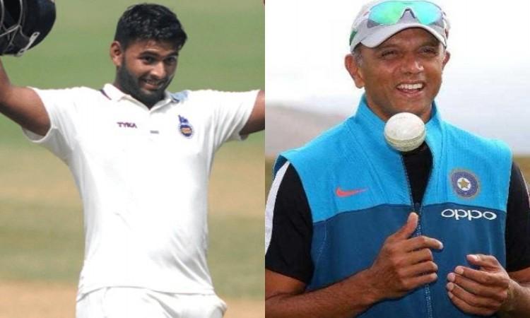Rishabh Pant has temperament skills to perform in Test cricket says Rahul Dravid