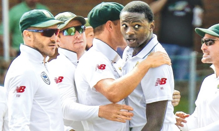 Kagiso Rabada to handle fast bowling attack command says Faf du Plessis