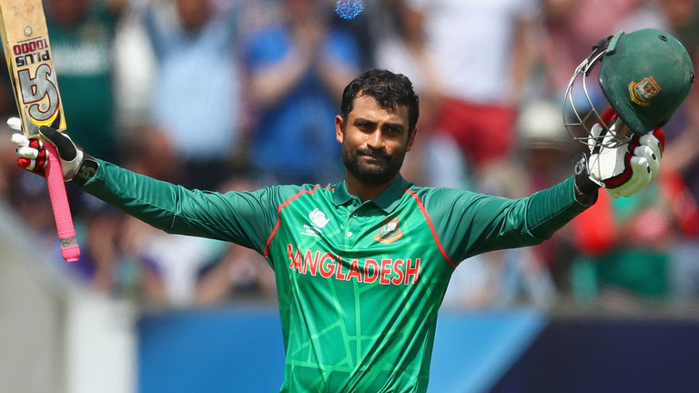 Tamim Iqbal drops anchor to give Bangladesh 279