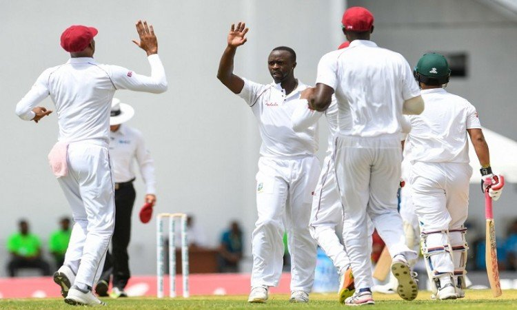 Bangladesh crash to 43 all out vs west indies