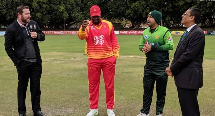 Zimbabwe opted to bat first against Pakistan in second odi