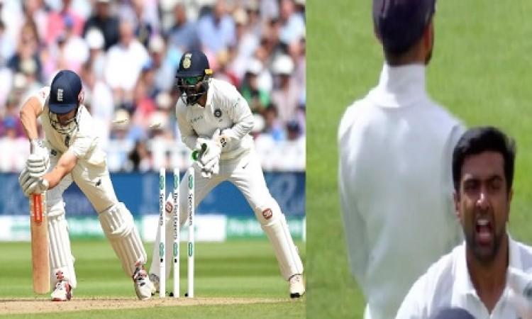 VIDEO अश्विन की हैरत भरी गेंद पर क्लिन बोल्ड हुए एलिस्टर कुक, खुद समझ नहीं पाए क्या हुआ Images