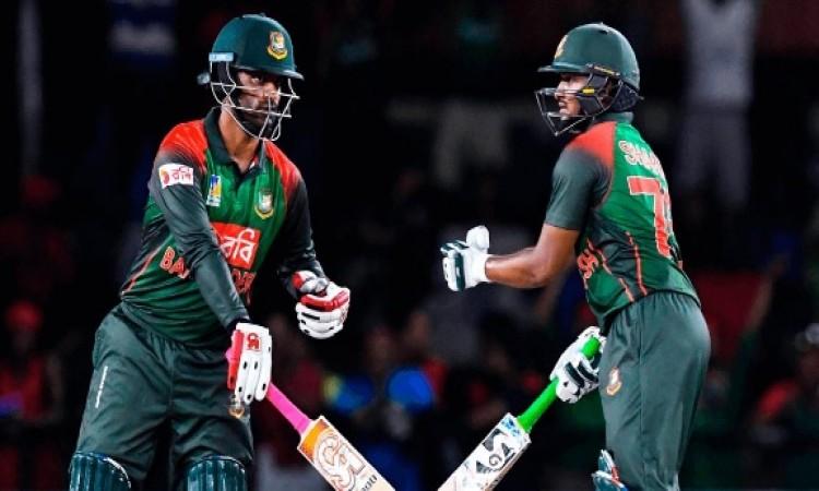 दूसरे टी-20 में बांग्लादेश ने वेस्टइंडीज को 12 रनों से दी पटखनी, ये खिलाड़ी बना हीरो Images