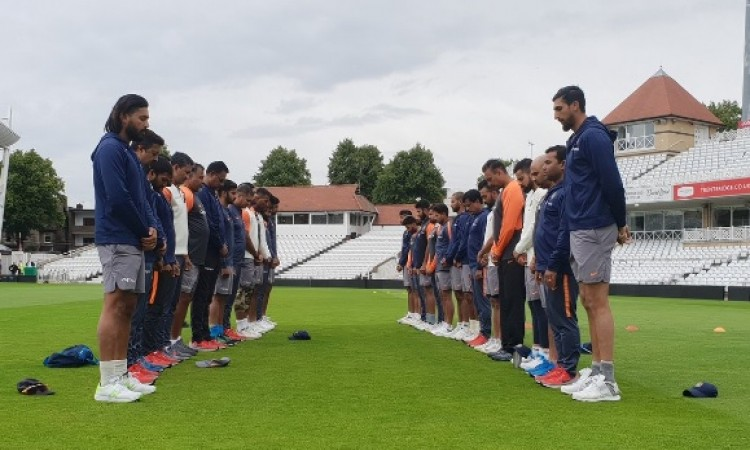 भारतीय क्रिकेट टीम ने महान अटल बिहारी वाजपेयी जी के निधन पर ऐसे जताया शोक Images